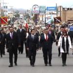 Encabeza Alcalde desfile de la Revolución Mexicana