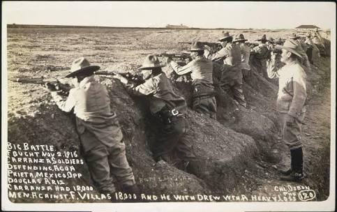 Se cumplieron cien años de la segunda batalla de Agua Prieta