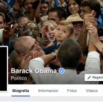 Barack Obama abre su perfil en Facebook