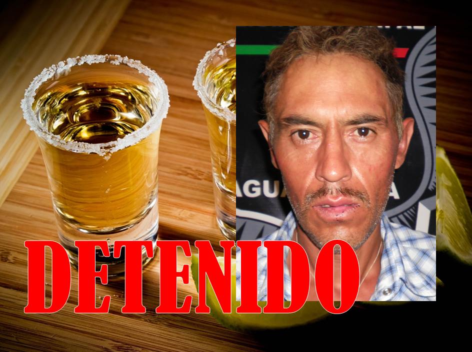 Lo detienen por robarse una botella de tequila