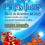 Desfile de las luces el 1 de diciembre