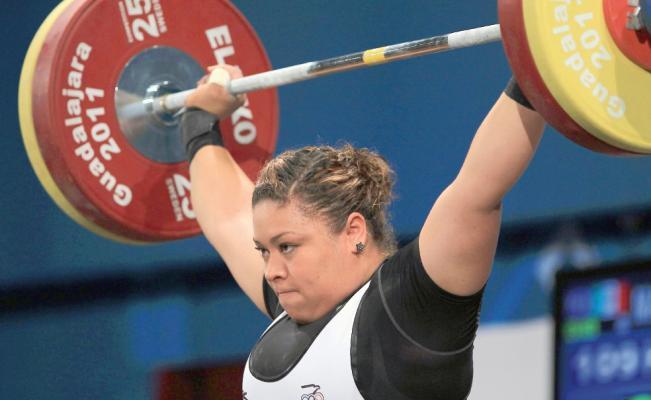 Obtiene México tres plazas olímpicas en halterofilia femenil
