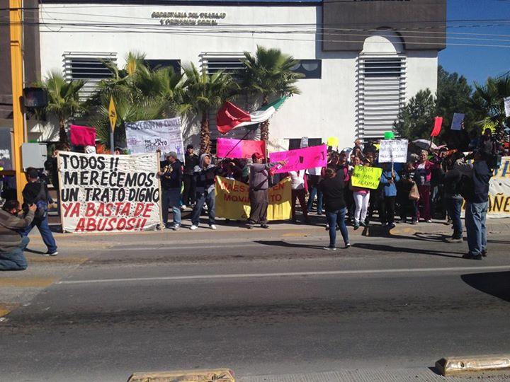 manifestacion de obreros
