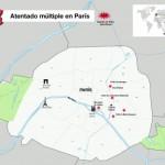 Al menos 112 muertos en París: balance extraoficial