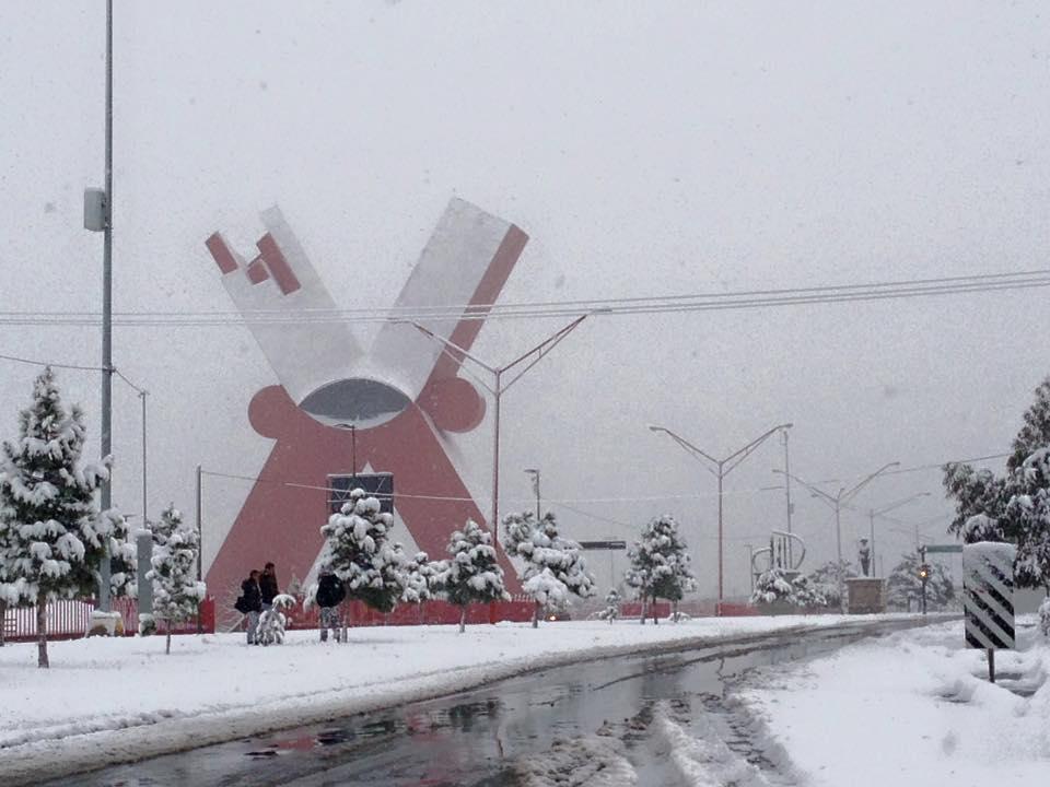 GALERÍA: Hermosas postales nevadas de Ciudad Juárez