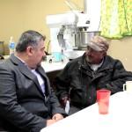 Recorre Alcalde, Héctor Rubalcava, comedor Los Olivos