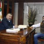 Trabajan Alcalde y Diputado Carlos Fu en proyectos de beneficio para Agua Prieta