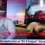 """Primeras fotografías del """"Chapo"""" después de su recaptura"""