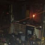 Asiste DIF a familia que perdió casa por incendio