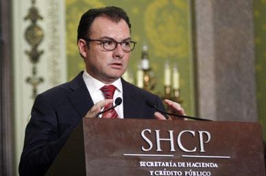 Peso mexicano retomará su valor real, asegura Videgaray Caso
