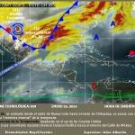 Pronóstico meteorológico para las siguientes 72 horas