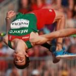 Édgar Rivera califica a JO con récord en salto de altura