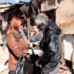 Acude Presidenta del DIF, Luz Aidee Llanes de Rubalcava, a la Ladrillera para atender a familias