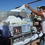 Causa expectación traslado de recién nacido a Hermosillo