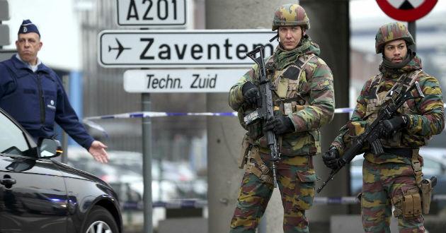 Irrumpen concentración pacífica contra terrorismo en Bélgica