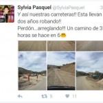 Sylvia Pasquel critica carretera Ímuris-Cananea