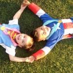 ¡Superhéroes en la Unidad Deportiva de Agua Prieta!