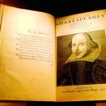Descubren en Escocia una copia del First Folio, de William Shakespeare