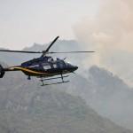 Controlado 40% del incendio en Tepoztlán