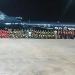 Grupo de 112 rescatistas mexicanos viaja a Ecuador