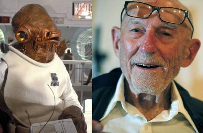 Muere Erik Bauersfeld, la voz de Ackbar en Star Wars