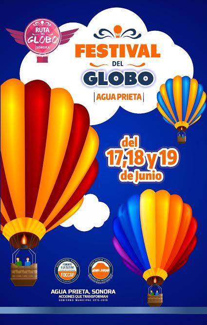 Festival del globo en Agua Prieta