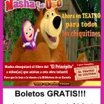HOY!!! Boletos GRATIS para Masha y El oso 3380054