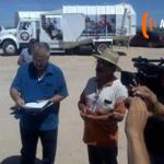 La empresa PASA no permitió el día de hoy la entrada de camiones OLDAP a depositar en el relleno sanitario la basura. www.apsonfm.com