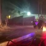 Incendio en Almacén de Fábrica Bimbo