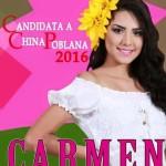 Apoya a Carmen Candidata a China Poblana 2016