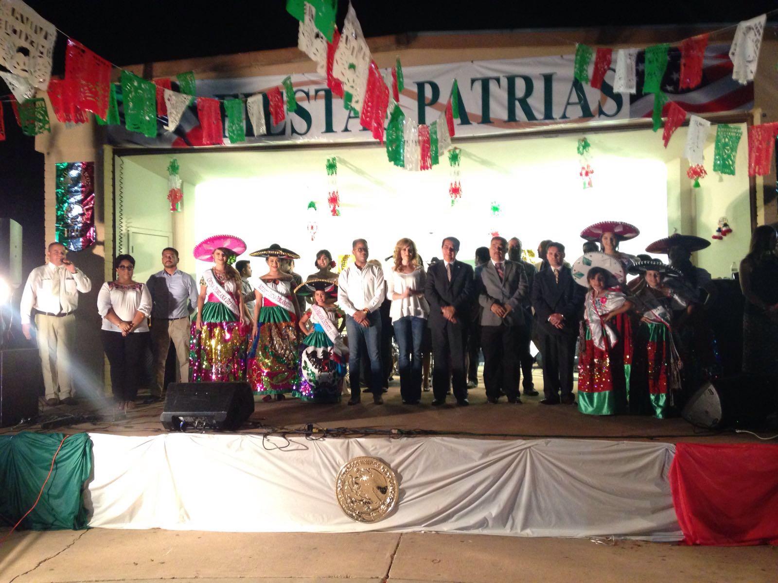 Douglas Arizona Celebra Grito de Independencia de México.