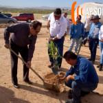 Instituto del Deporte, Oomapas y Oldap realiza una reforestación para la unidad deportiva Rivera Morales