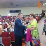 Esfuerzos compartidos de la zona escolar 50 de prescolar y el H. Ayuntamientos de Agua Prieta