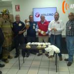 VELCRO realiza una magnifica donación a el Honorable H. Cuerpo de Bomberos.