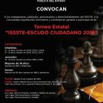 TORNEO Estatal ''ISSSTE – ESCUDO CIUDADANO 2016''