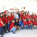 alumnos del Instituto Tecnológico de Agua Prieta realizaron una donación a Cruz Roja Mexicana