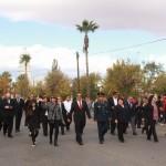 Desfile conmemorativo de la Revolución Mexicana.