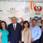 Cónsul de México en Douglas dona a Hospital General de agua prieta más de medio millón de dólares en equipo médico