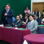 LIC. ADALBERTO LAPRADA LEÓN DIRECTOR DE OOMAPAS EN PARTICIPACIÓN CON EL ALCALDE HÉCTOR RUBALCABA Y EL DIPUTADO CARLOS FÚ