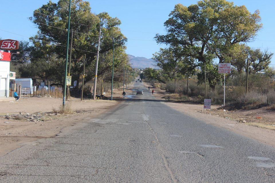 Iniciarán los trabajos previos de pavimentación en camino Los Álamos.