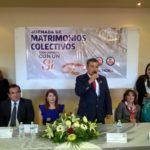 JORNADA DE MATRIMONIOS COLECTIVOS FEBRERO 2017