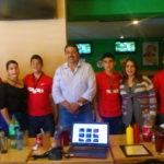 ENTREGA RECONOCIMIENTOS EL ALCALDE A 4 JÓVENES FUTBOLISTAS