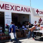 ENTREGA DIF A CRUZ ROJA DONACIONES PARA DAMNIFICADOS POR SISMOS