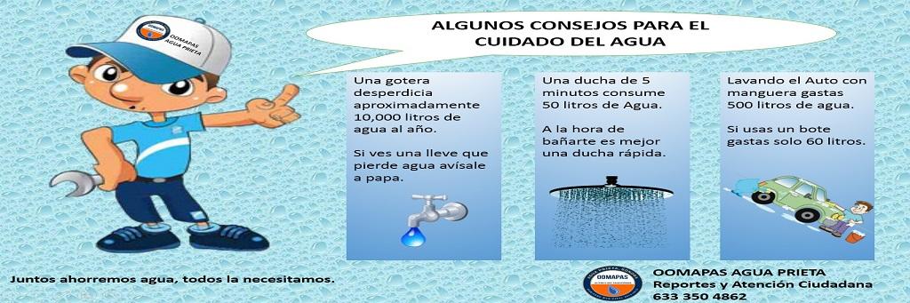 ALGUNOS TIPS PARA CUIDAR EL AGUA