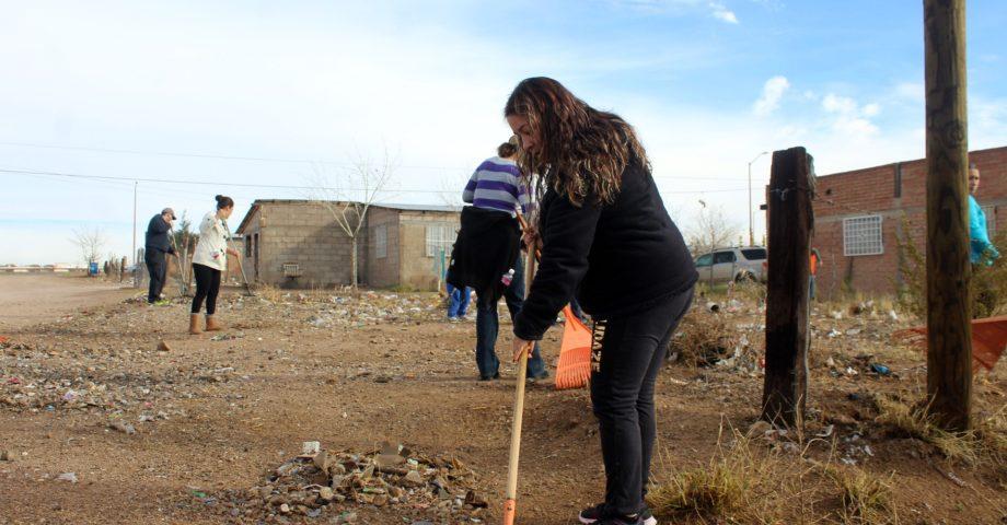 jornada de limpieza bicentenario vecinos dignos